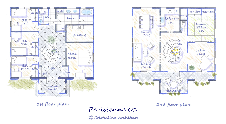 parisienne plan